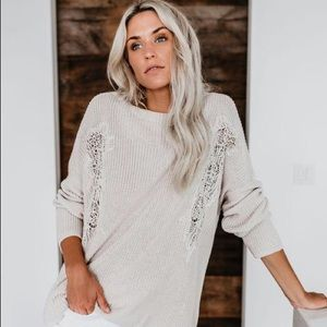 Light Taupe Sweater